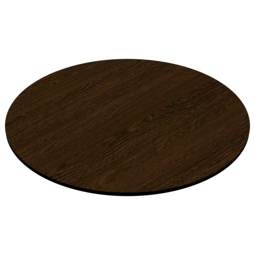 Compact Laminate Top Round Wenge