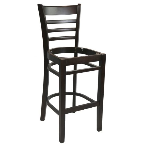 Part A Florence Barstool Frame Chocolate