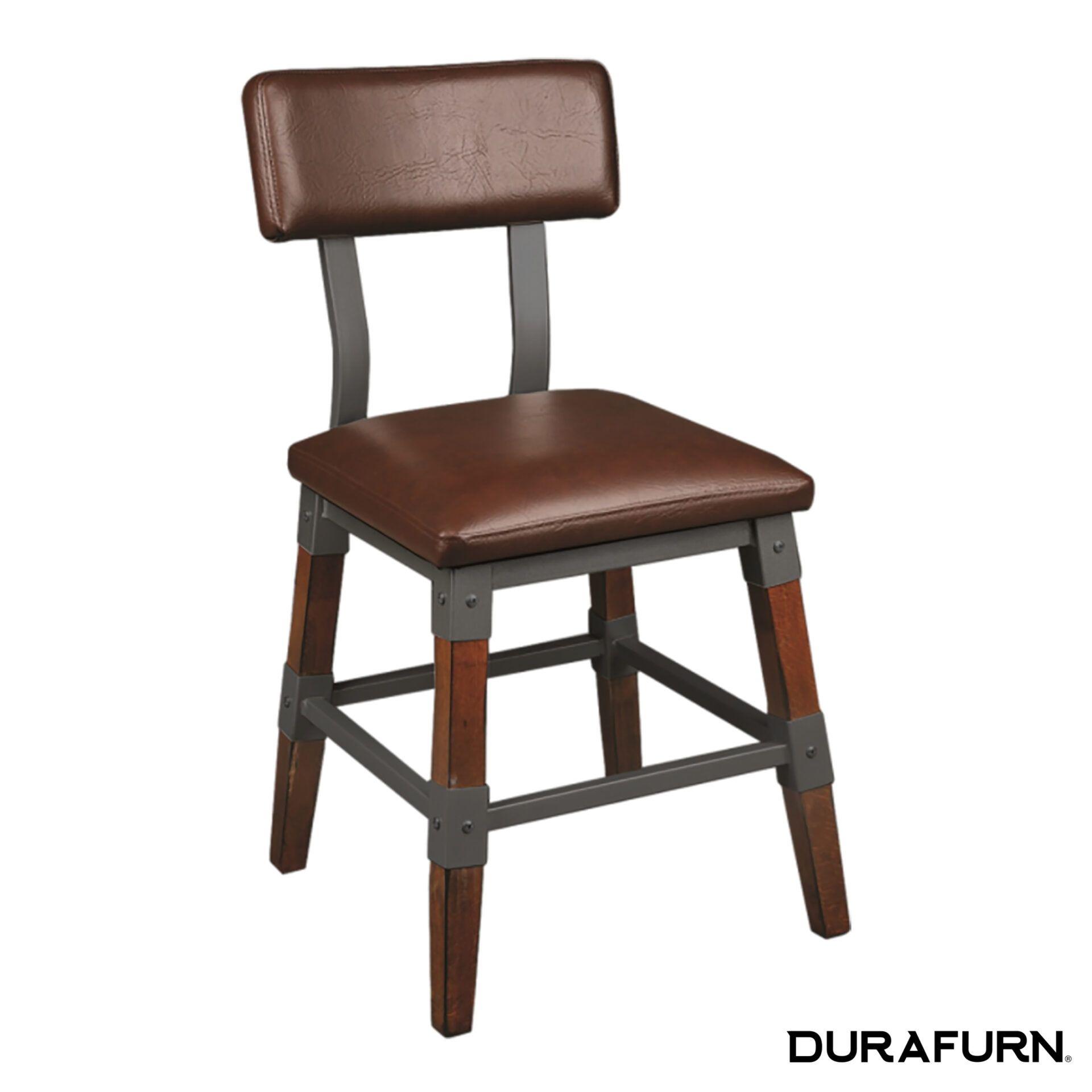 genoa chair dark tan vinyl seatv57fzf