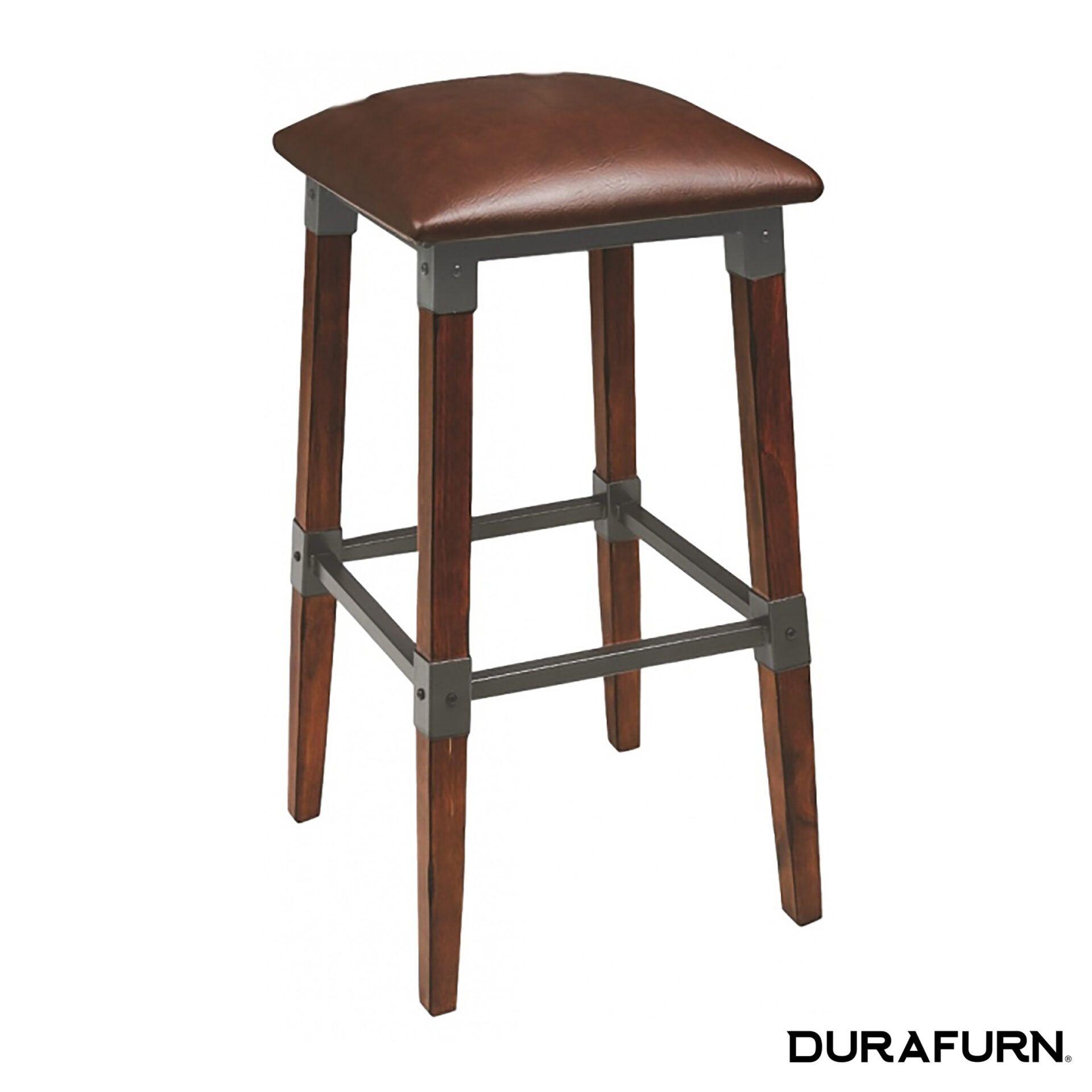 genoa stool dark tan vinylkkdi9b