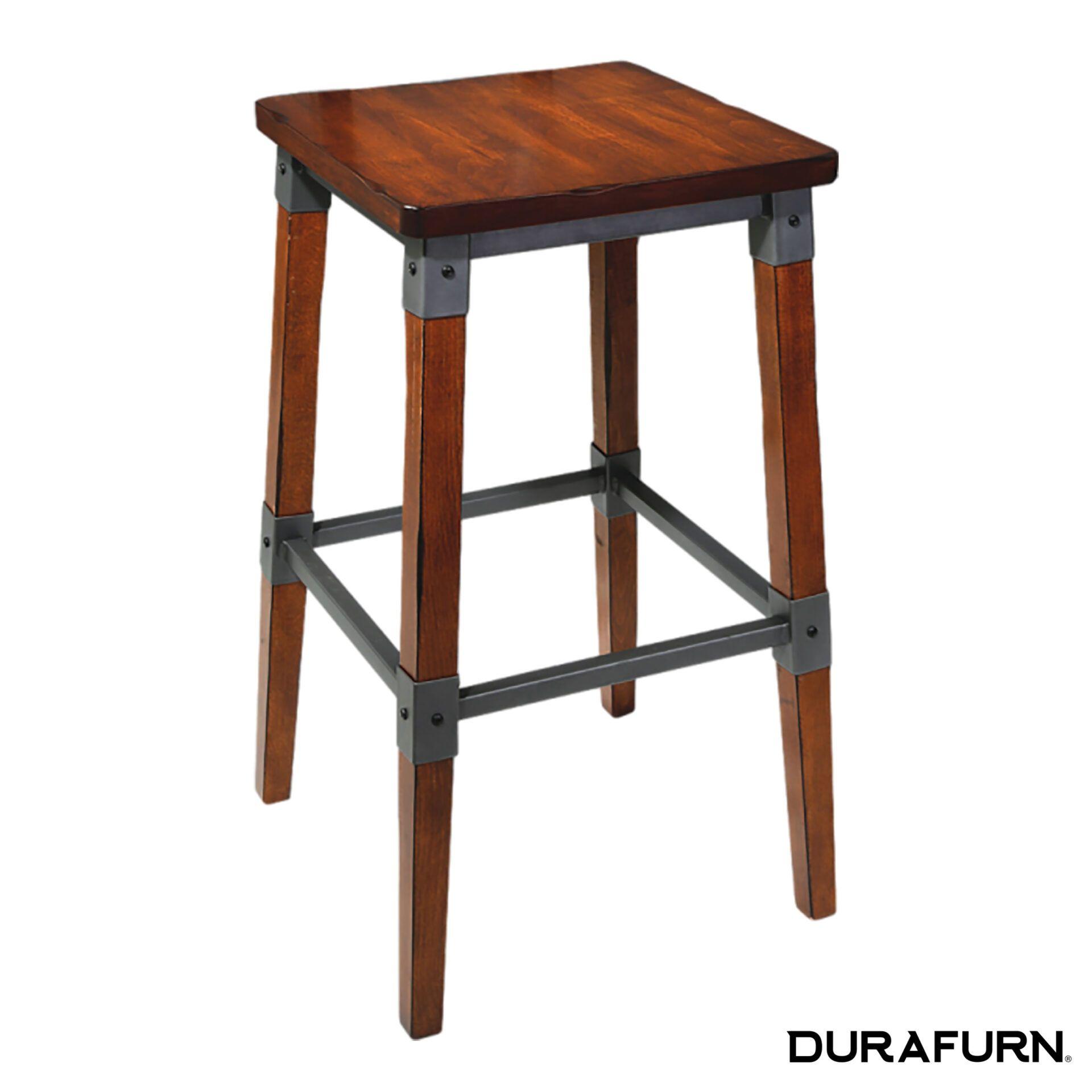 genoa stool timber seat37eru3