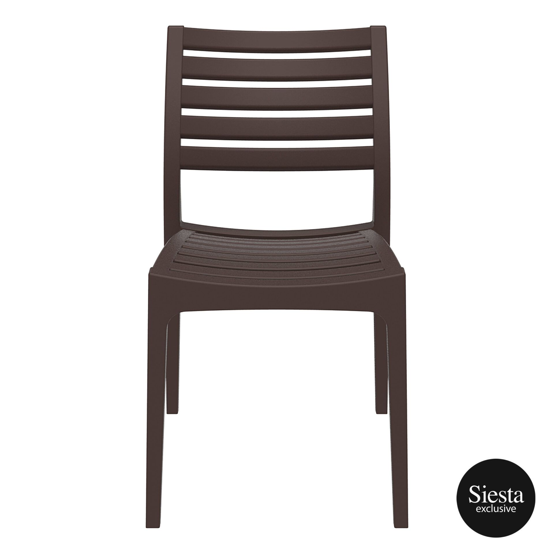outdoor ares chair brown front 1