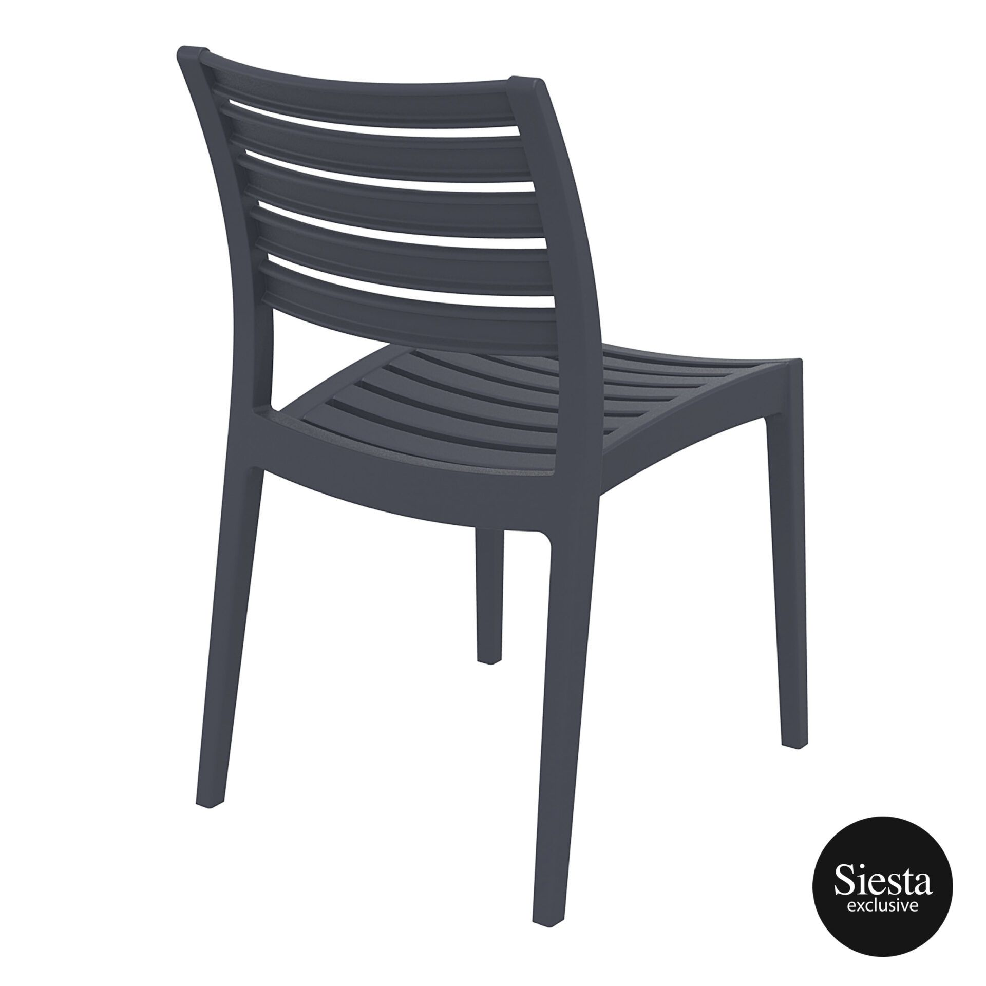 outdoor ares chair darkgrey back side 1