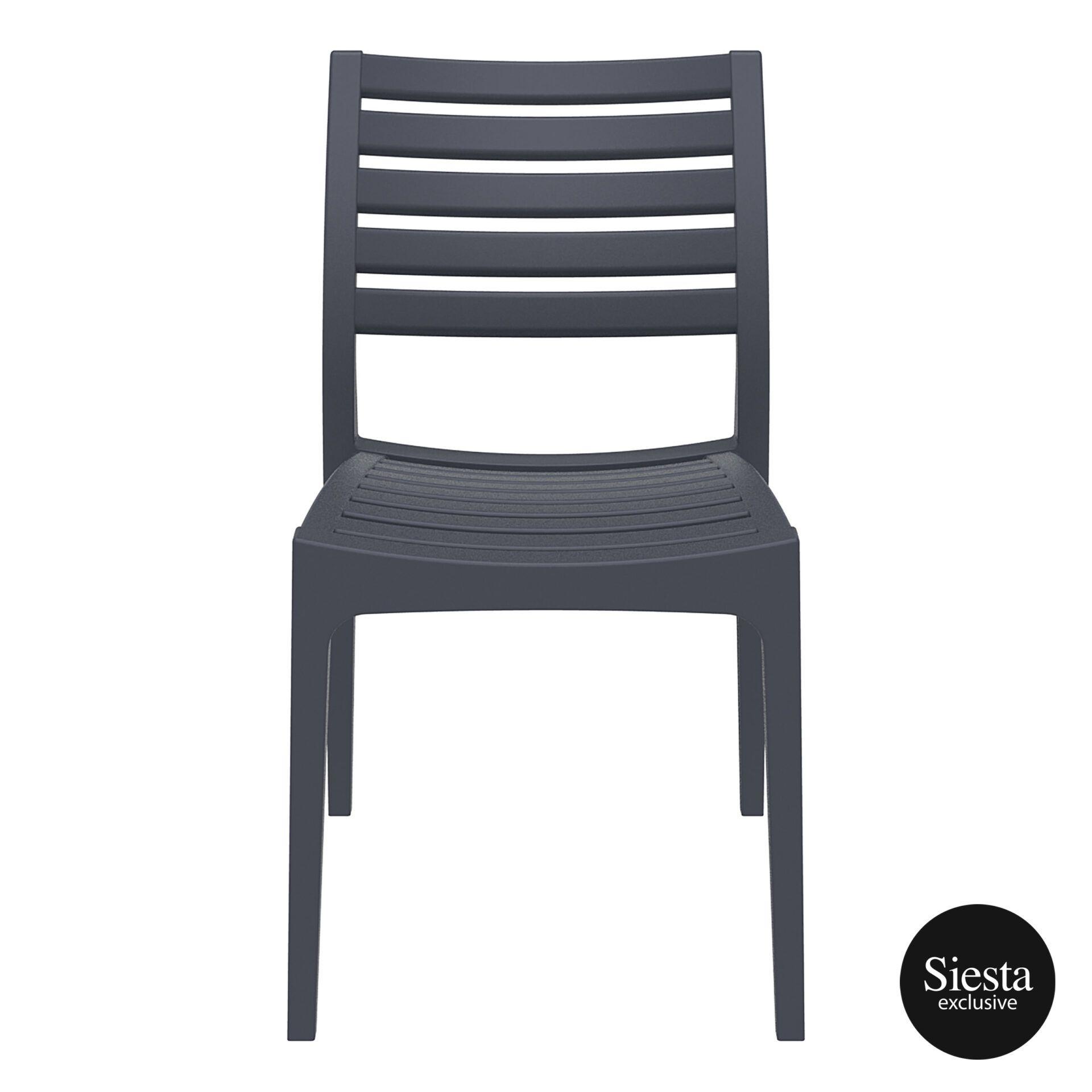 outdoor ares chair darkgrey front 1