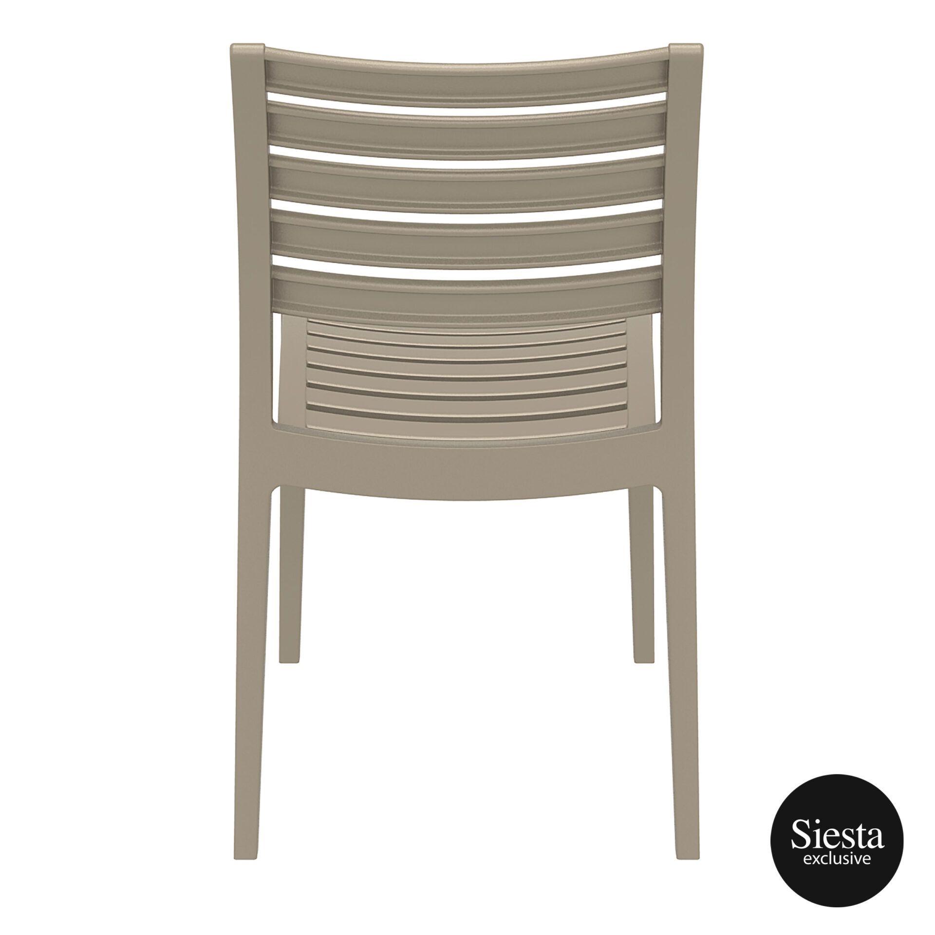 outdoor ares chair dovegrey back 1