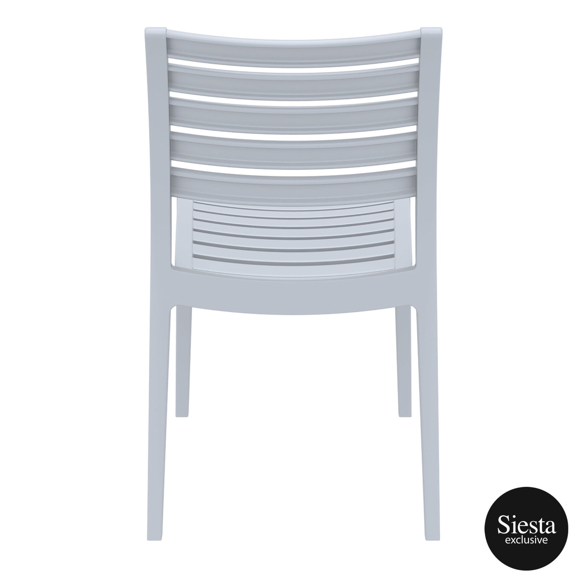 outdoor ares chair silvergrey back 1