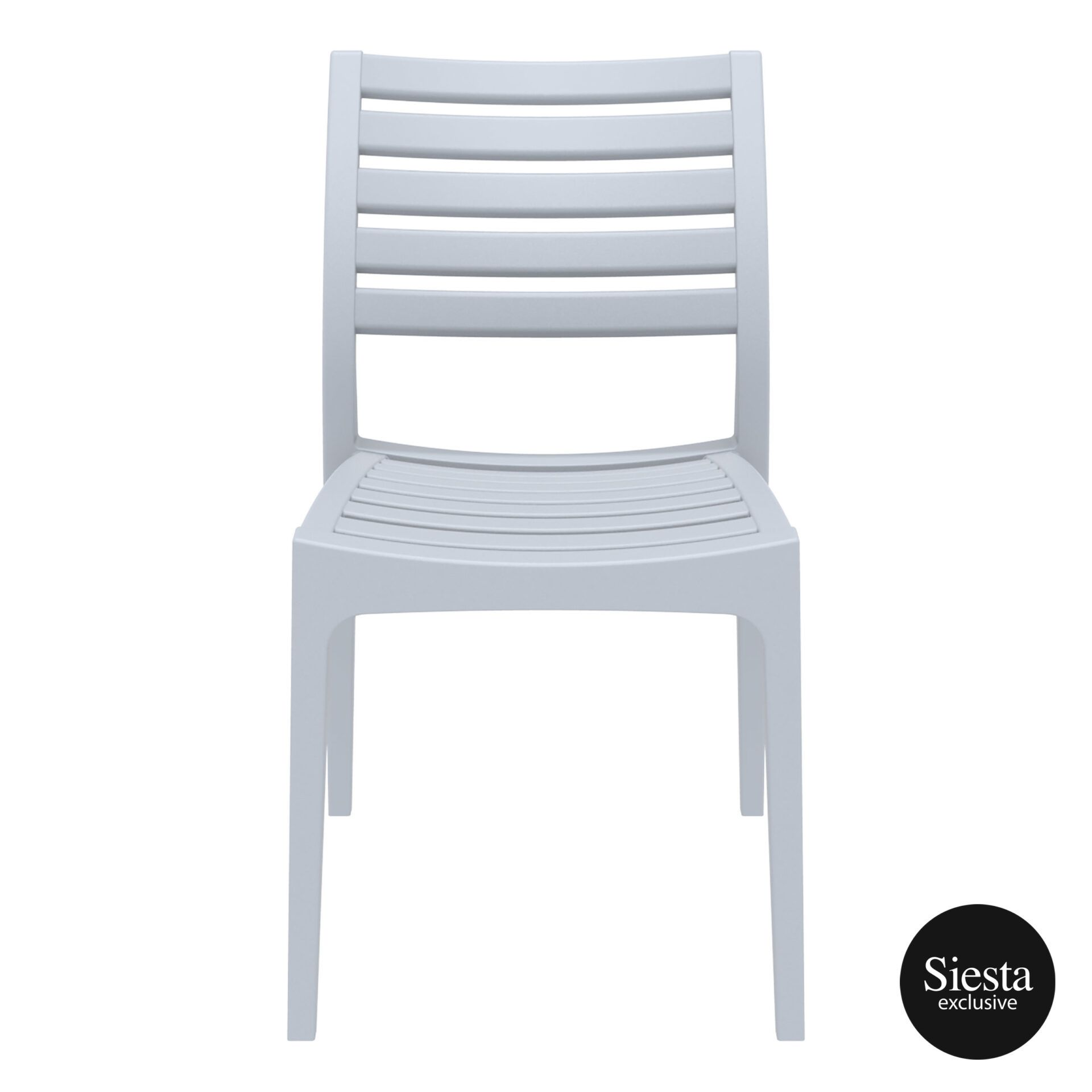 outdoor ares chair silvergrey front 1