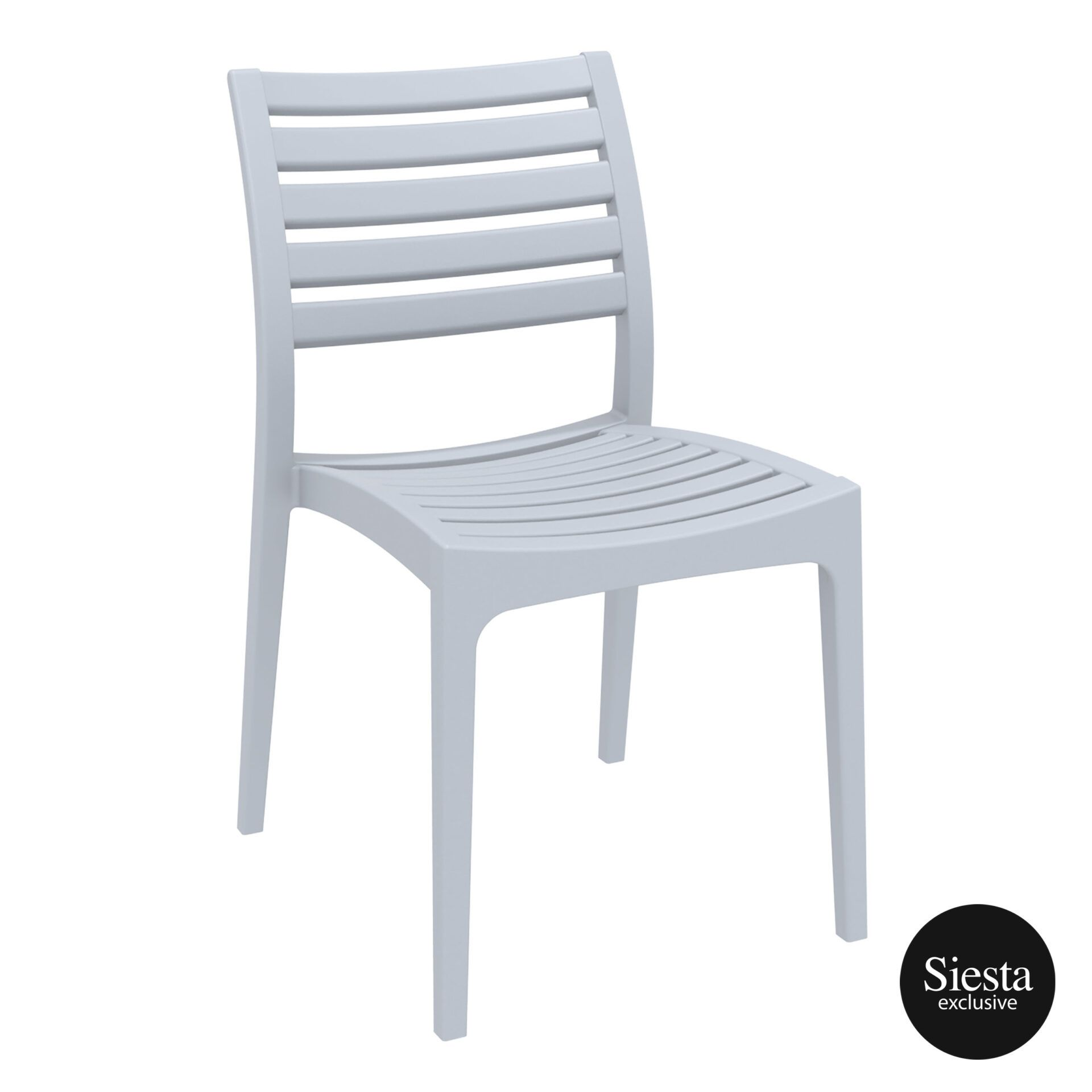 outdoor ares chair silvergrey front side 1
