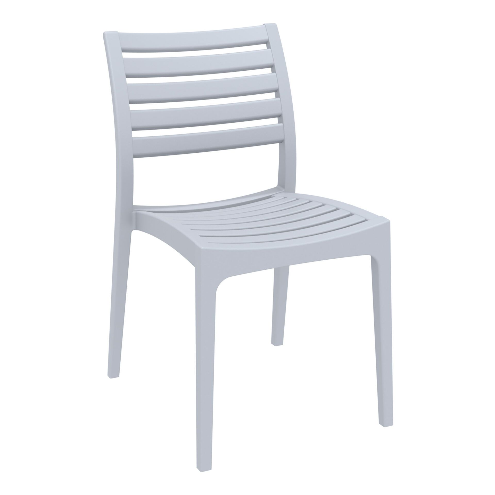 outdoor ares chair silvergrey front side