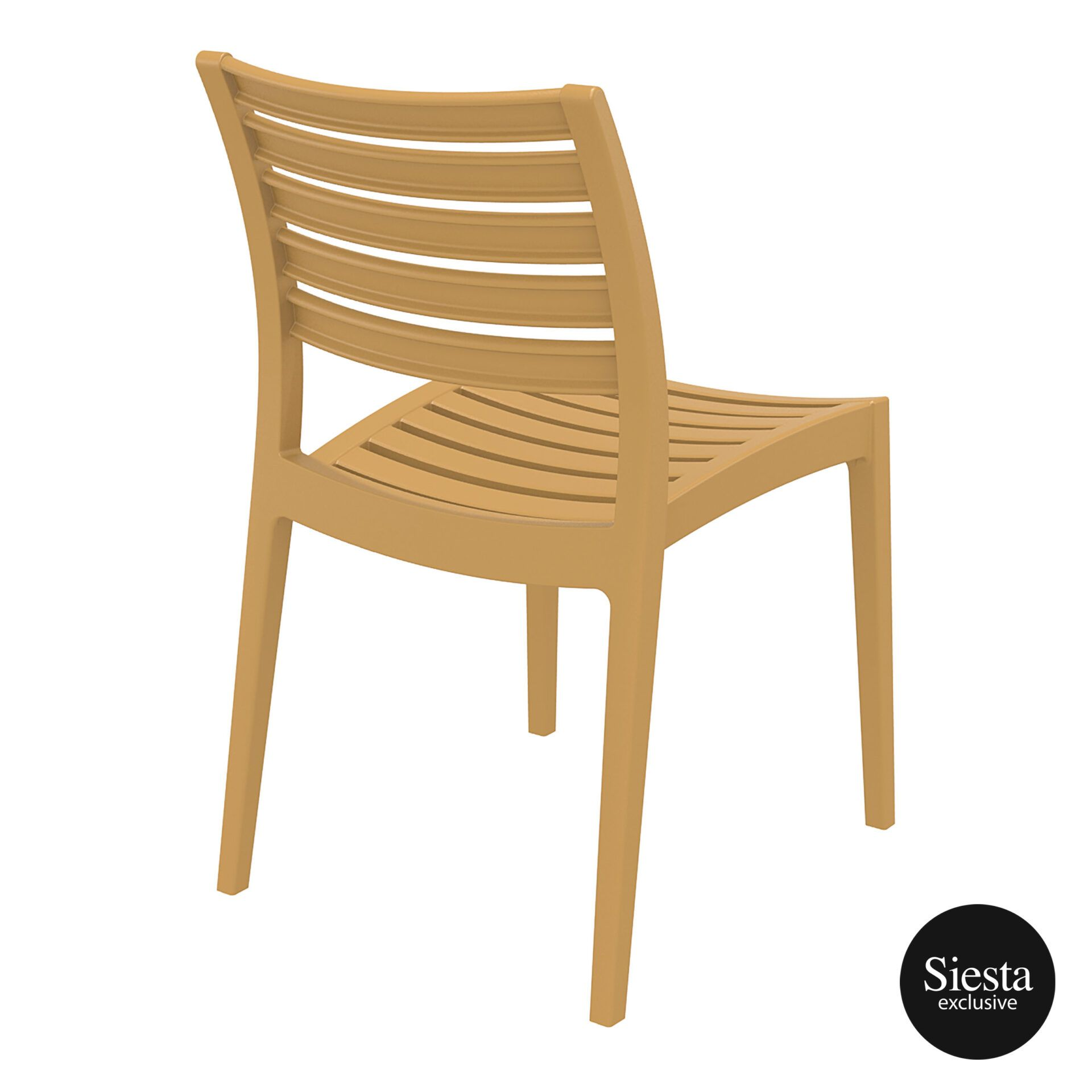 outdoor ares chair teak back side 1