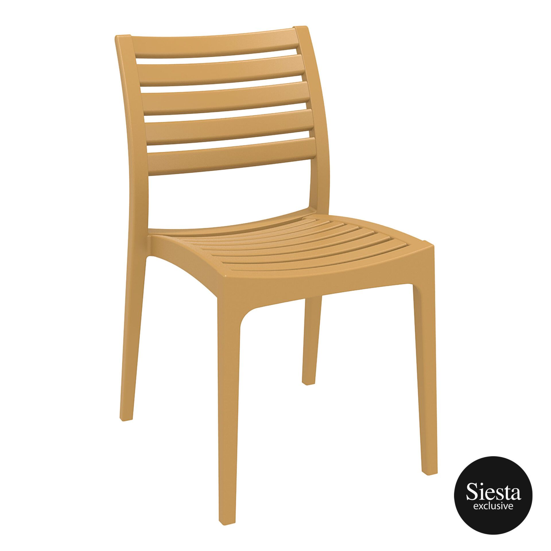 outdoor ares chair teak front side 1