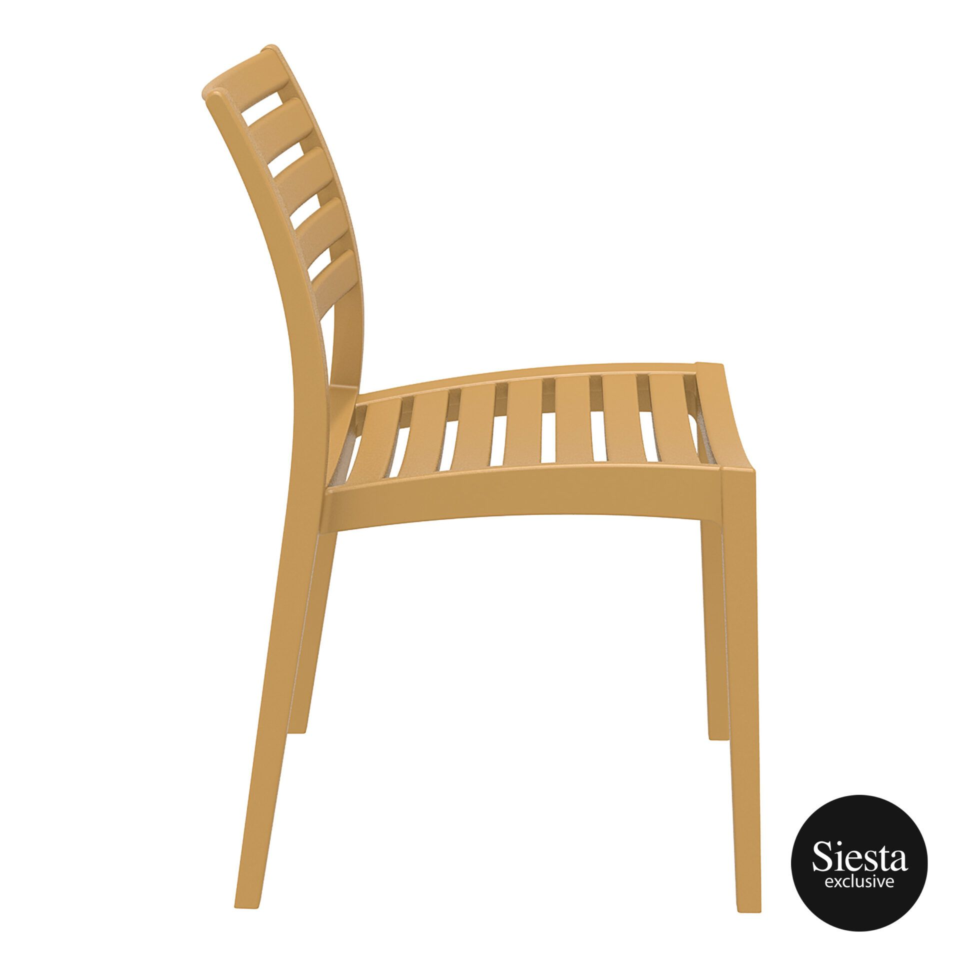 outdoor ares chair teak side 1
