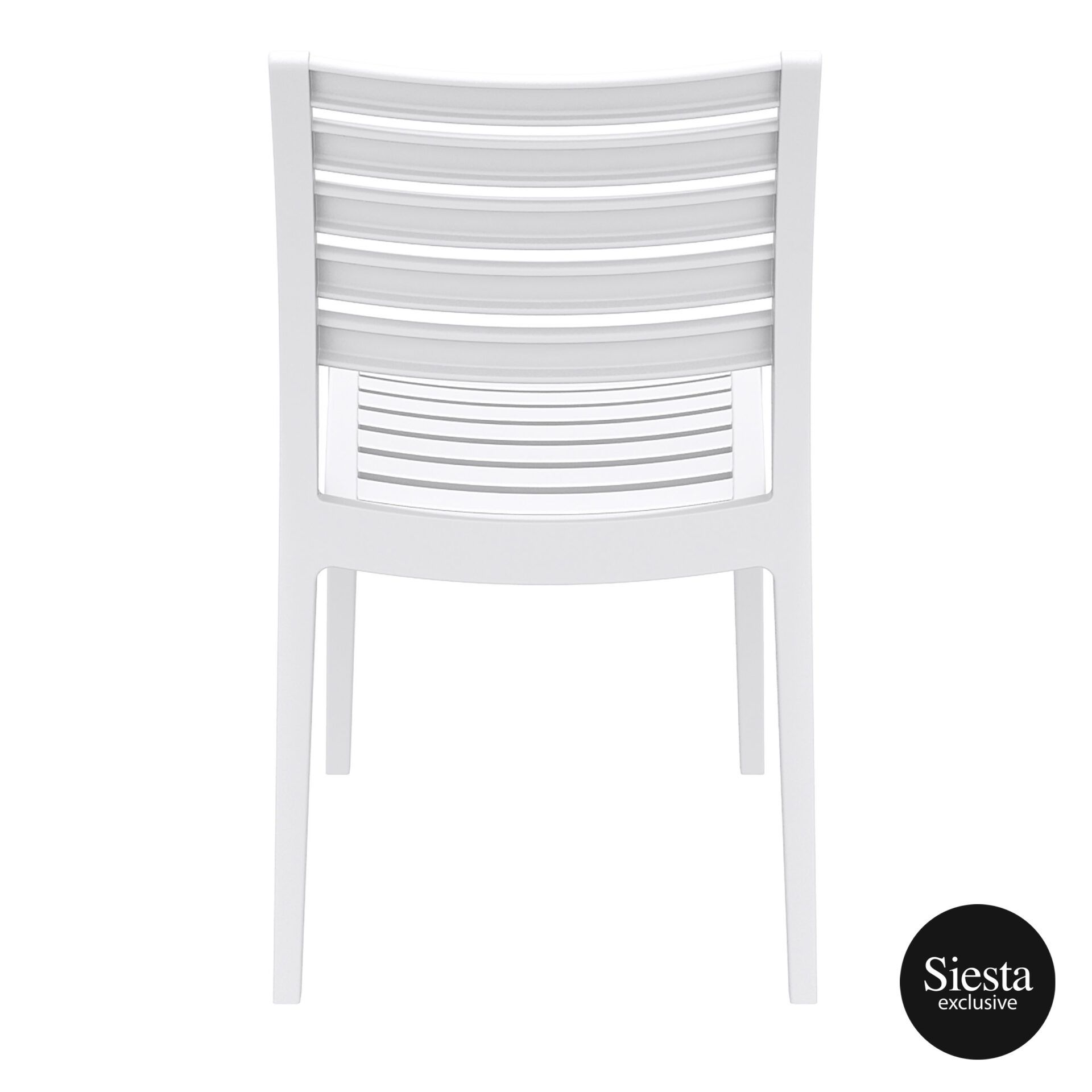 outdoor ares chair white back 1