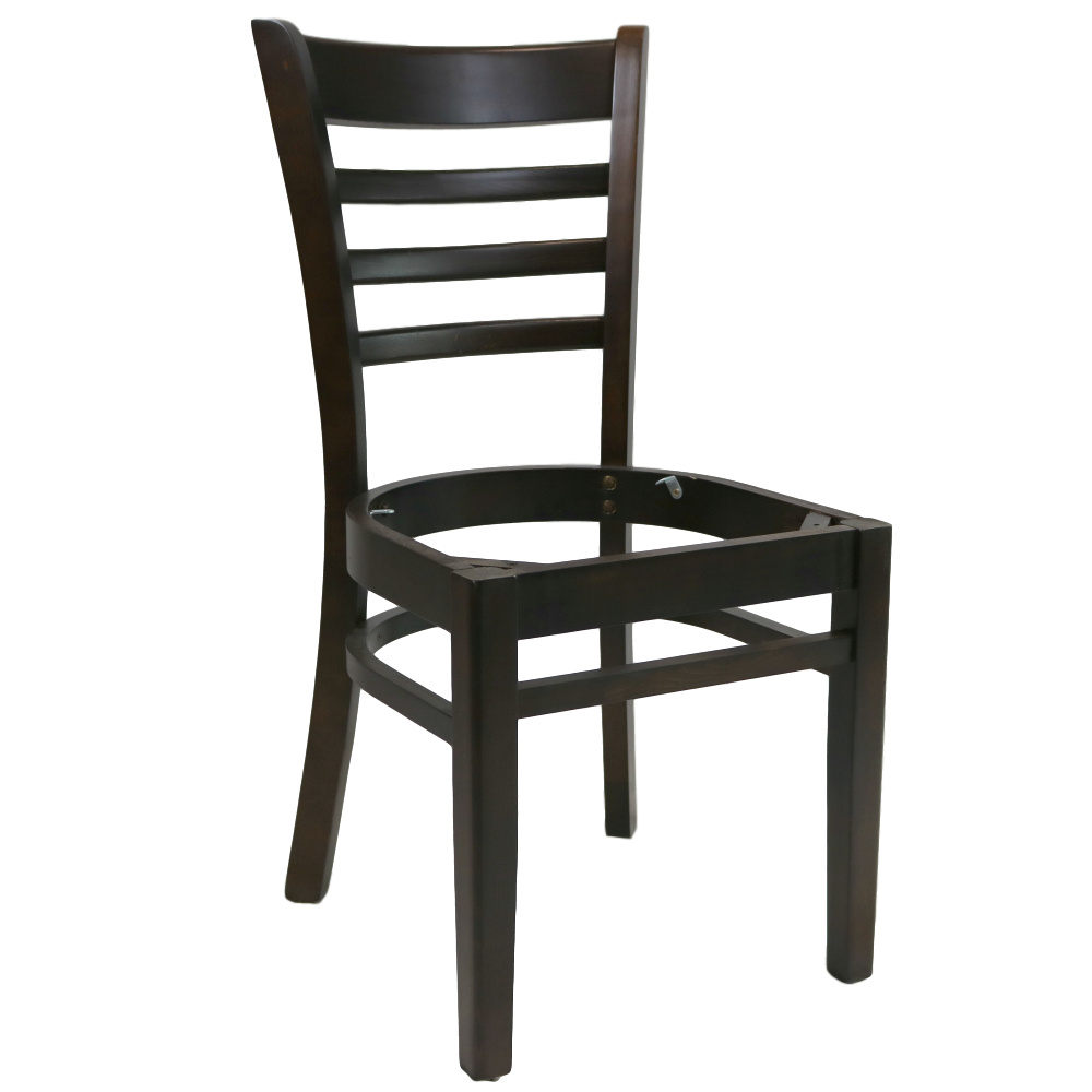 Part A Florence Chair Frame Chocolate