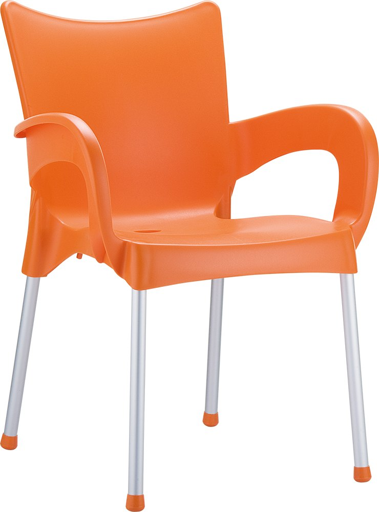 merit armchair orange