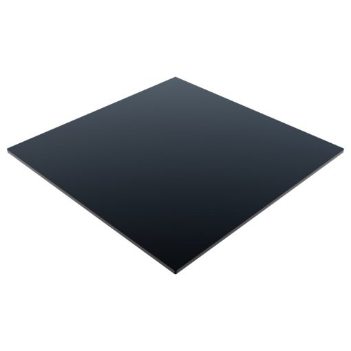 Compact Laminate Top Square Black