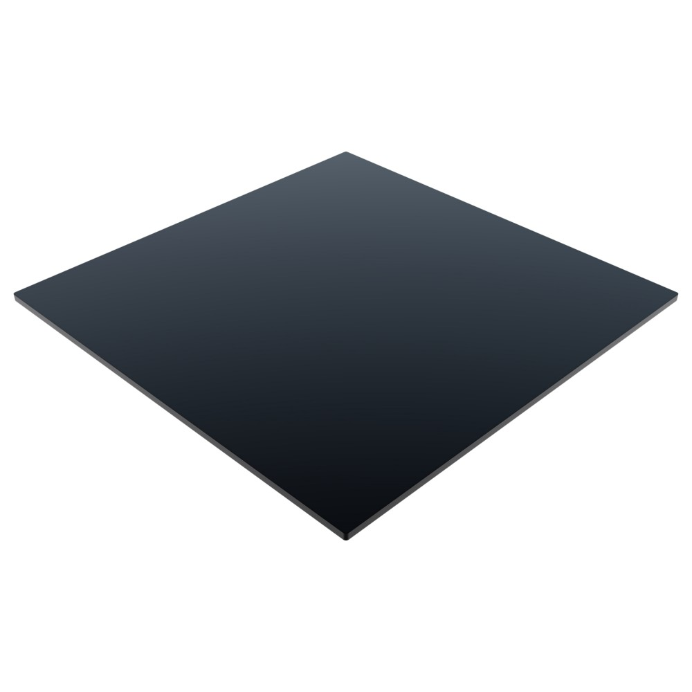 Compact Laminate Top Square Black