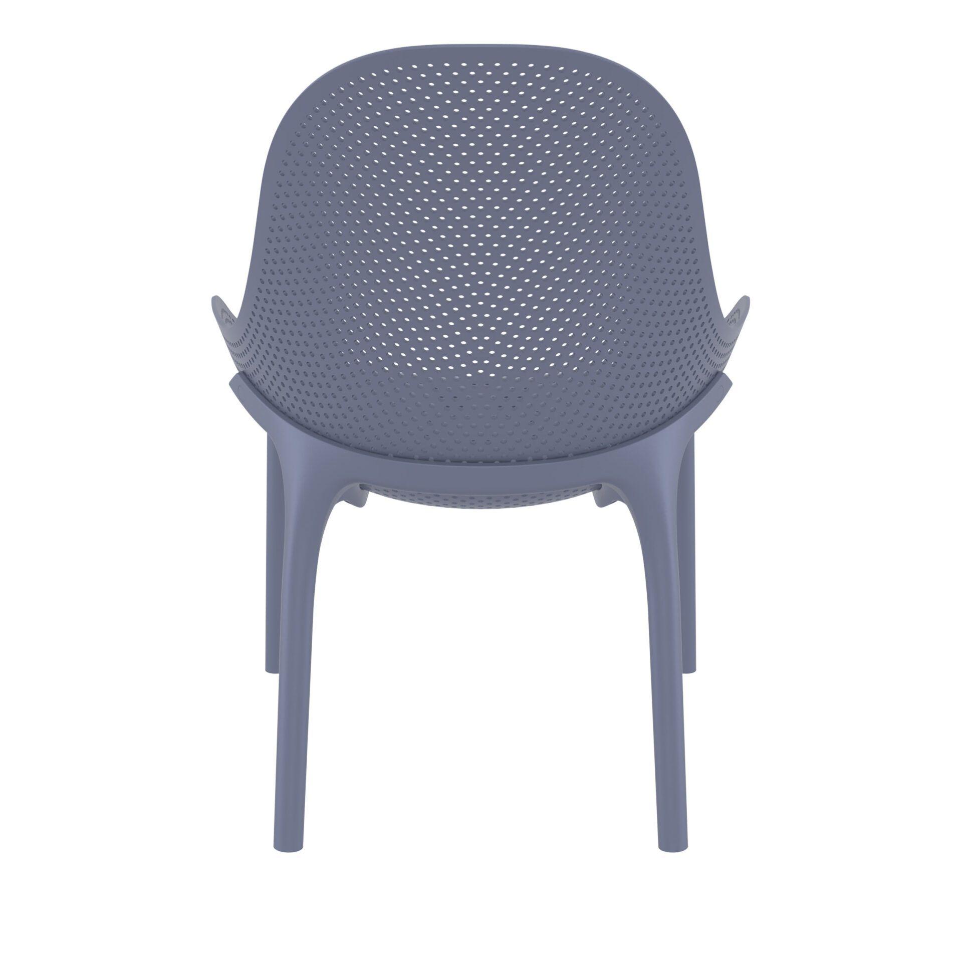 outdoor seating polypropylene sky lounge darkgrey back