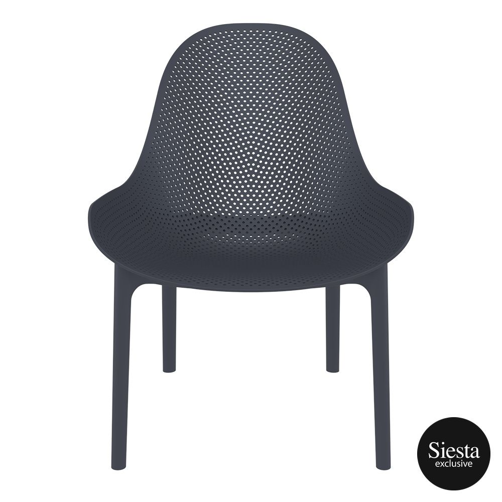 outdoor seating polypropylene sky lounge darkgrey front 2
