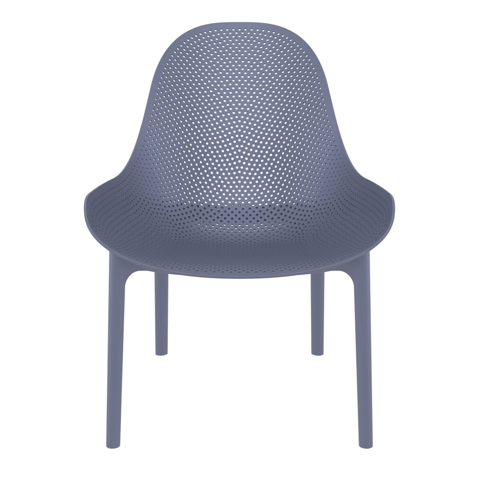 outdoor seating polypropylene sky lounge darkgrey front
