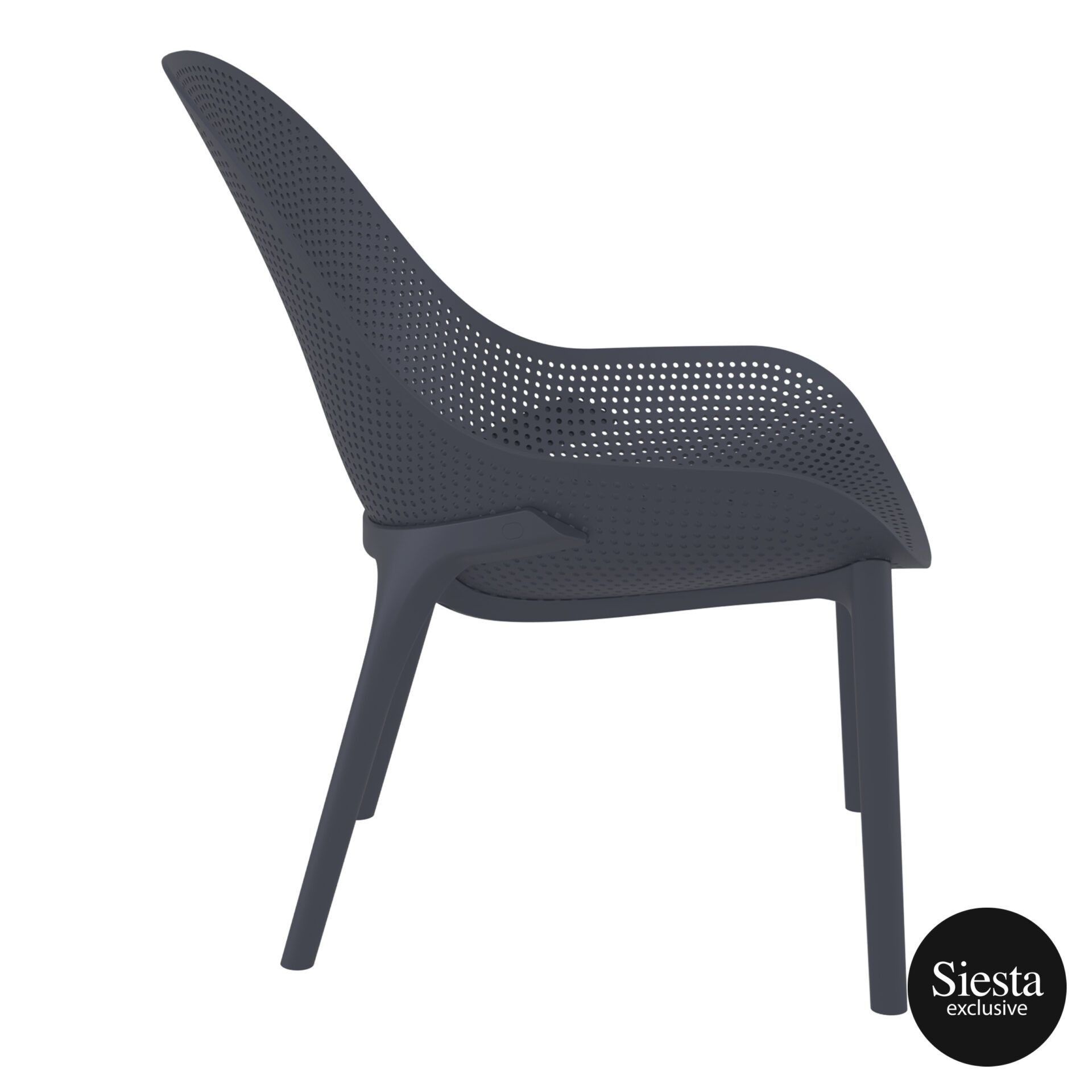 outdoor seating polypropylene sky lounge darkgrey side 2