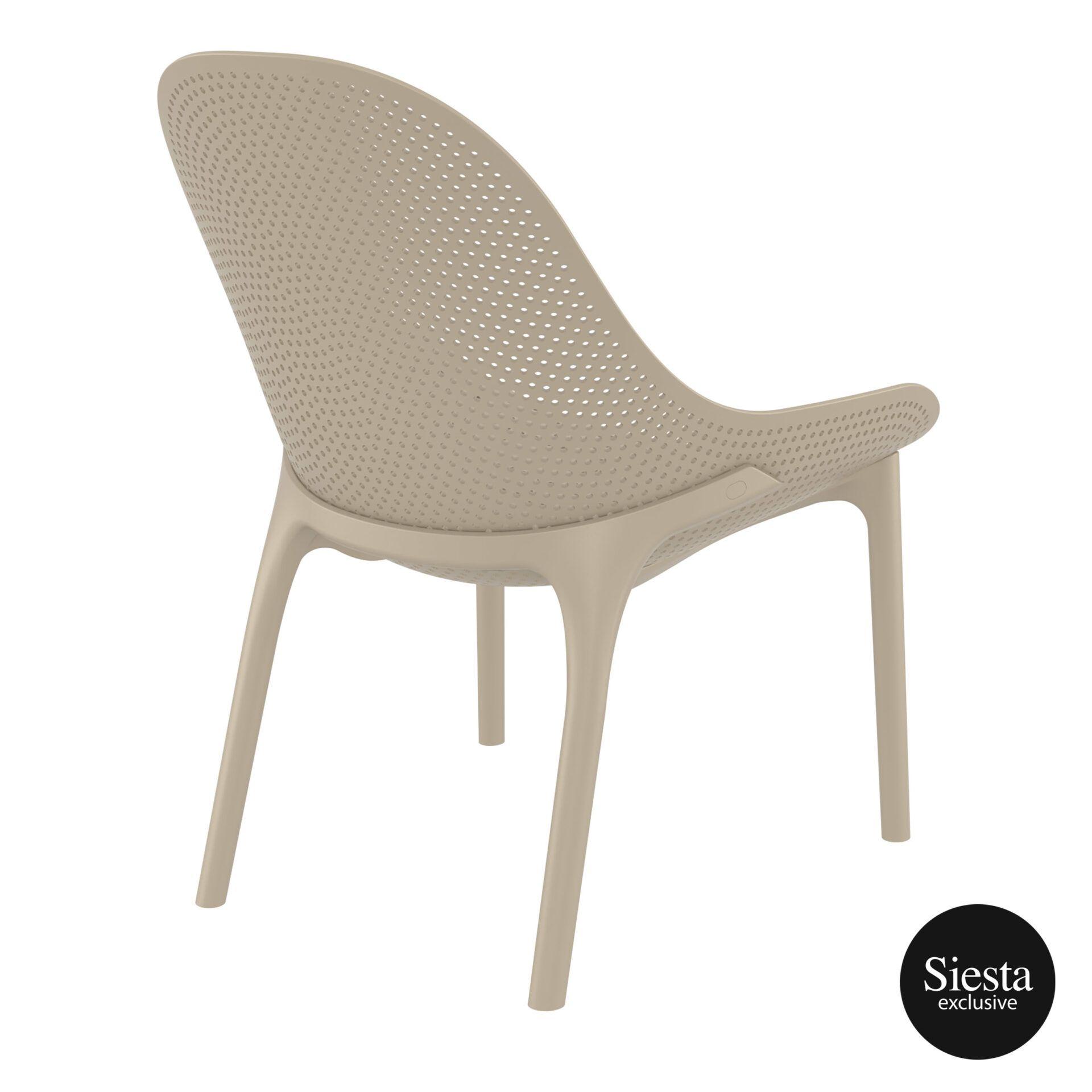 outdoor seating polypropylene sky lounge taupe back side 1