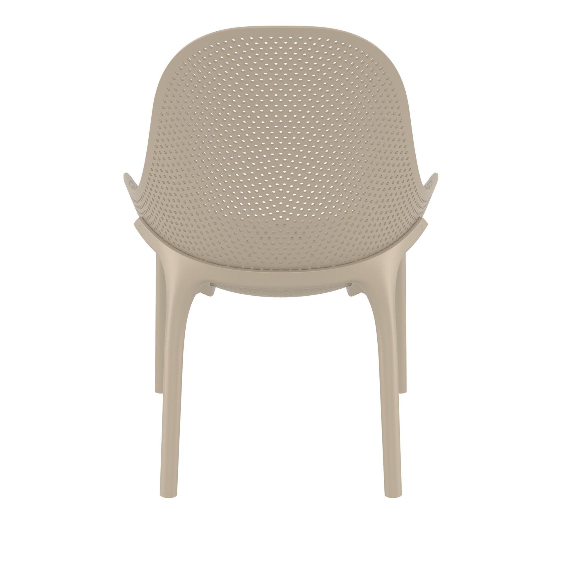 outdoor seating polypropylene sky lounge taupe back