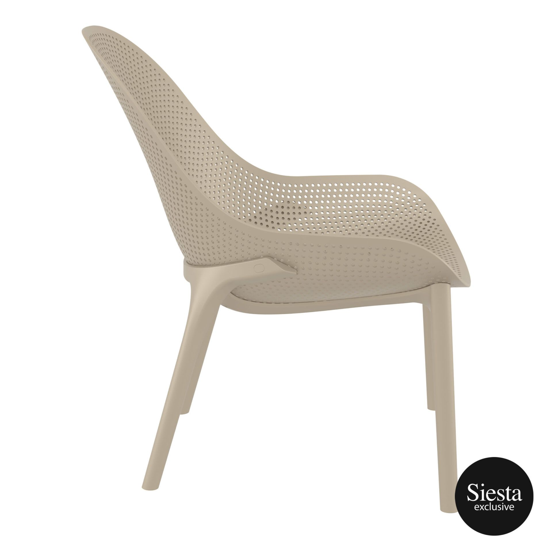 outdoor seating polypropylene sky lounge taupe side 1