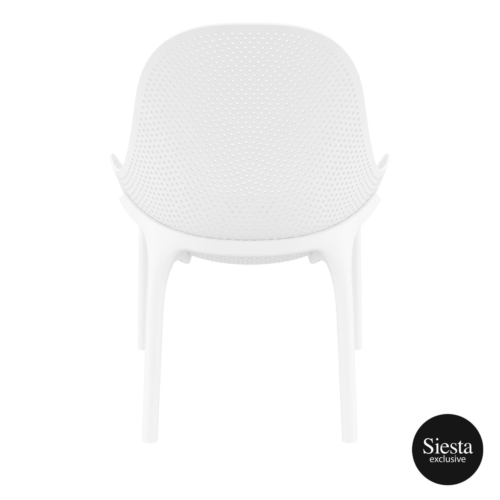 outdoor seating polypropylene sky lounge white back 1