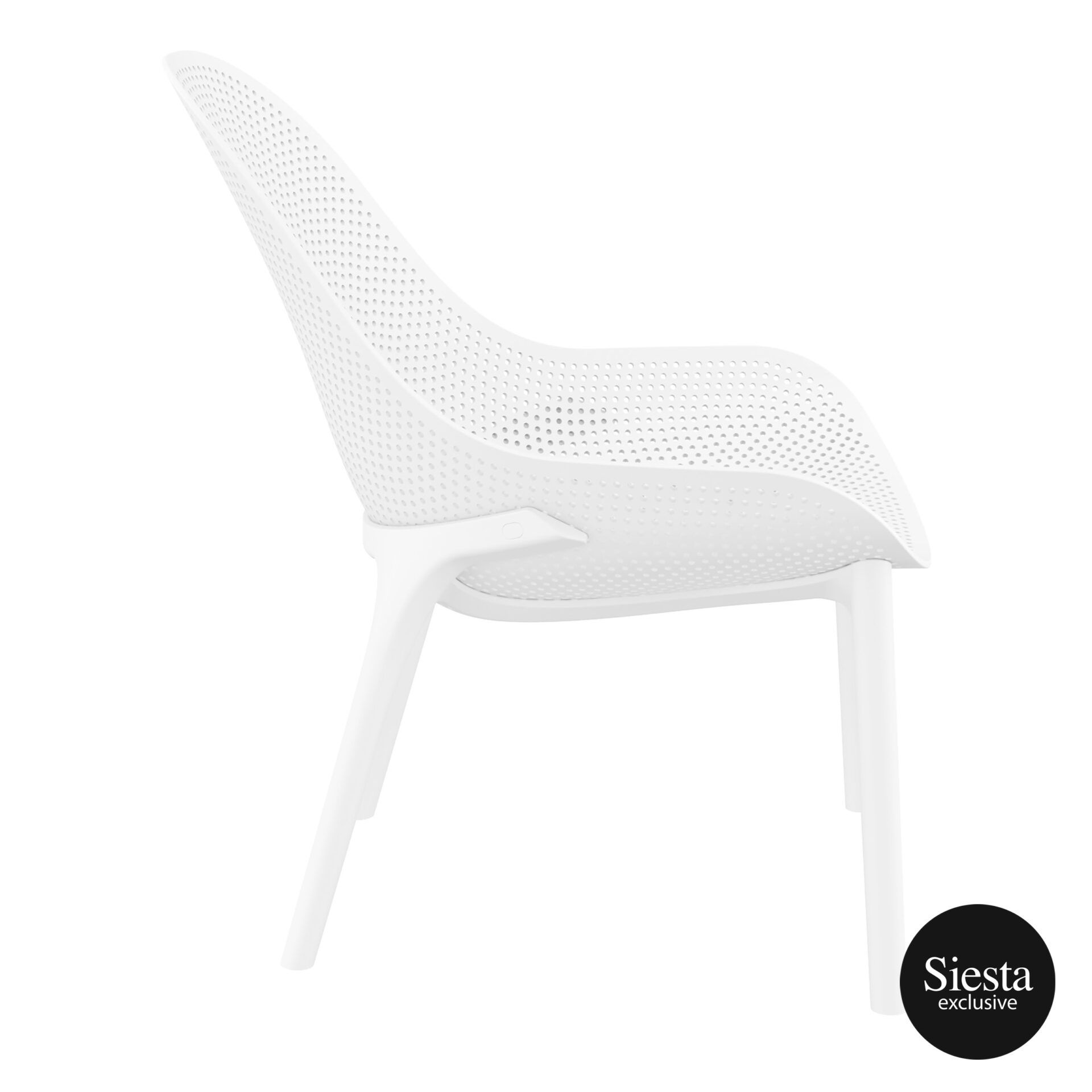 outdoor seating polypropylene sky lounge white side 1