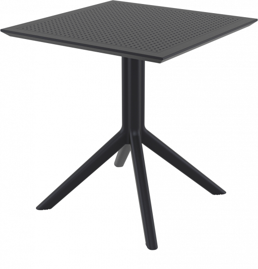 Sky Table 70 - Black - Front Side