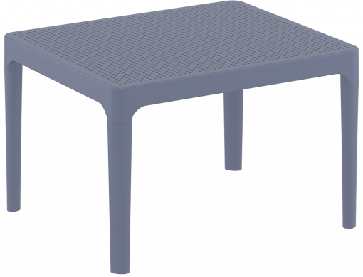 Sky Side Table - Anthracite - Front Side