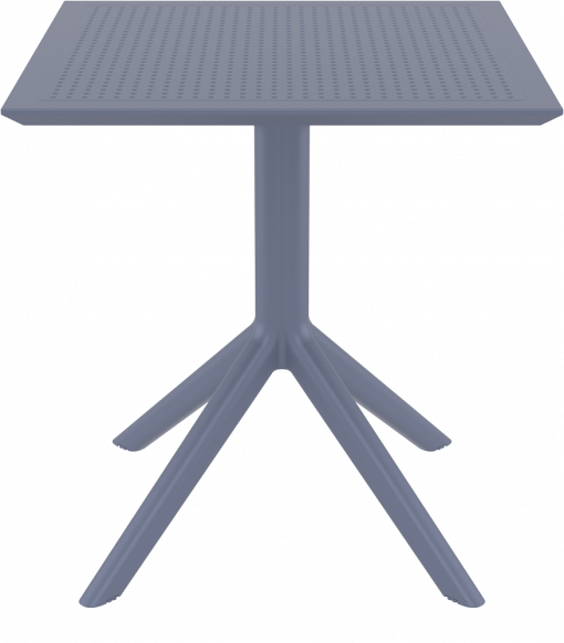 Sky Table 70 - Anthracite - Front