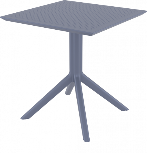 Sky Table 70 - Anthracite - Front Side