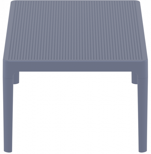 Sky Lounge Table - Anthracite - Short Edge