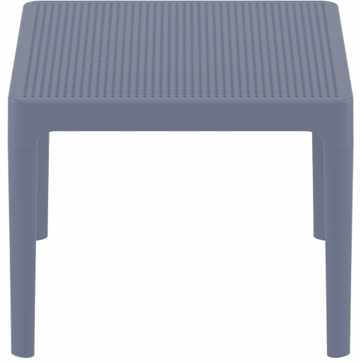 Sky Side Table - Anthracite - Short Edge