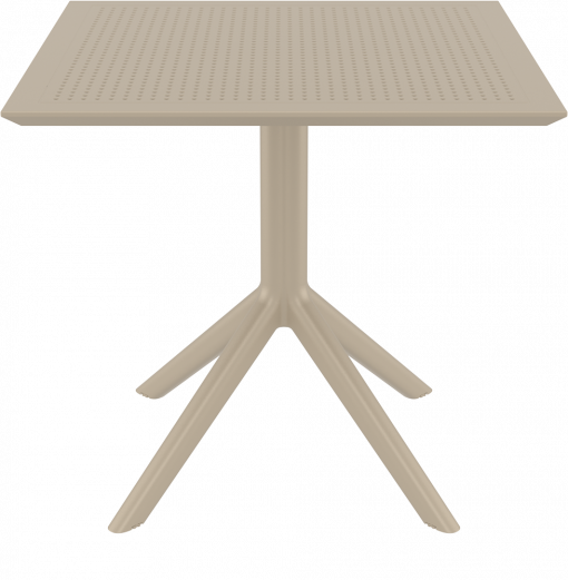 Sky Table - Taupe - Front
