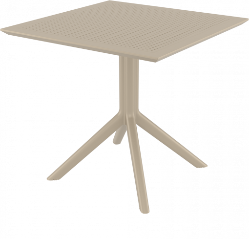 Sky Table - Taupe - Front Side