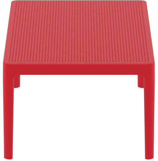 Sky Lounge Table - Red - Short Edge