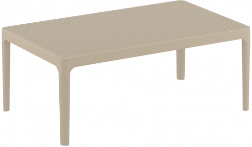 Sky Lounge Table - Taupe - Front Side