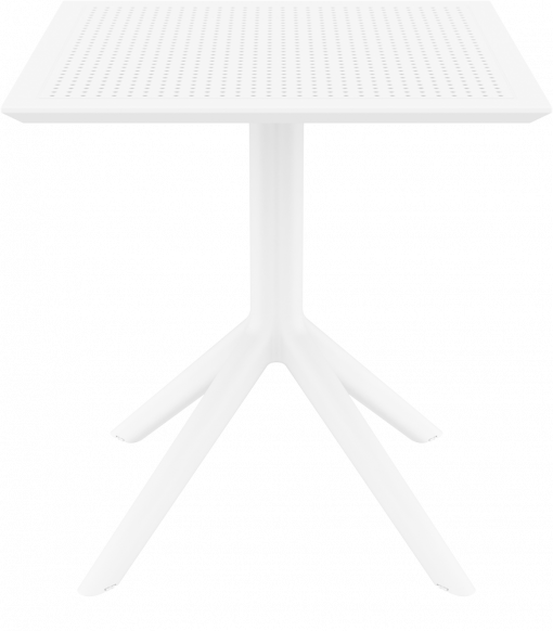 Sky Table 70 - White - Front