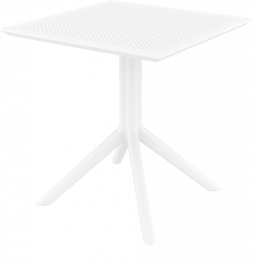 Sky Table 70 - White - Front Side