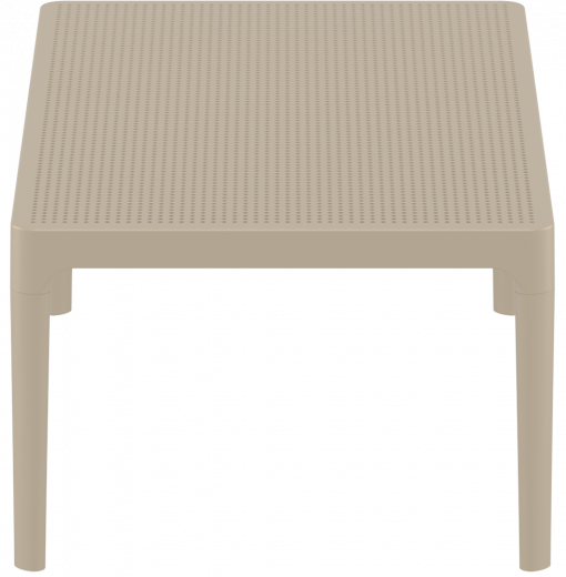 Sky Lounge Table - Taupe - Short Edge