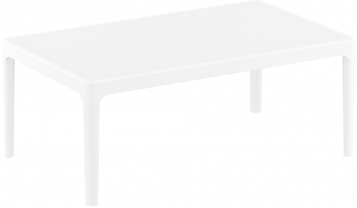 Sky Lounge Table - White - Front Side