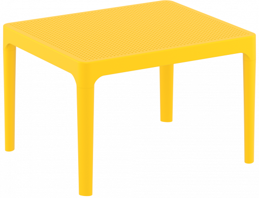 Sky Side Table - Yellow - Front Side