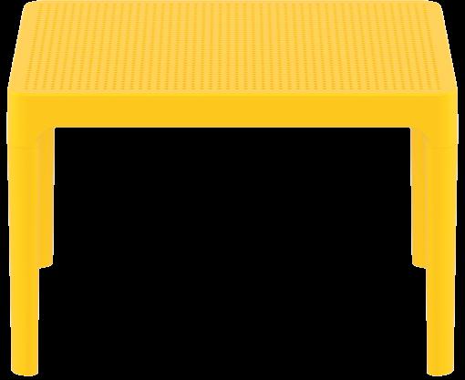 Sky Side Table - Yellow - Long Edge
