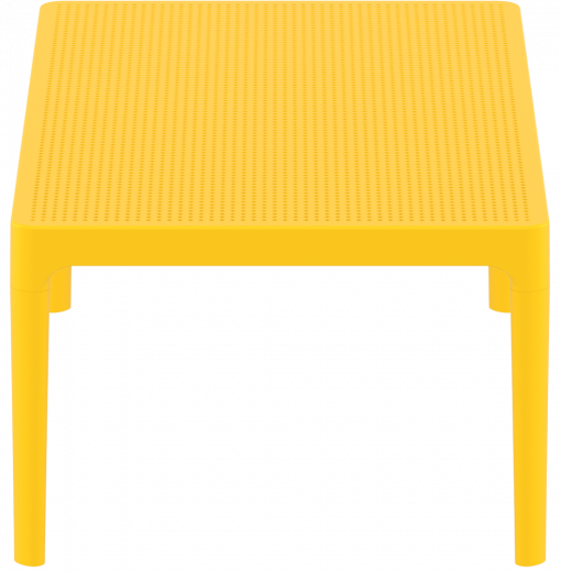 Sky Lounge Table - Yellow - Short Edge
