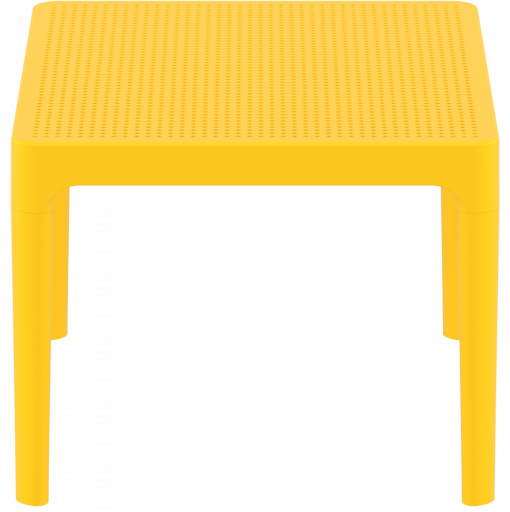 Sky Side Table - Yellow - Short Edge