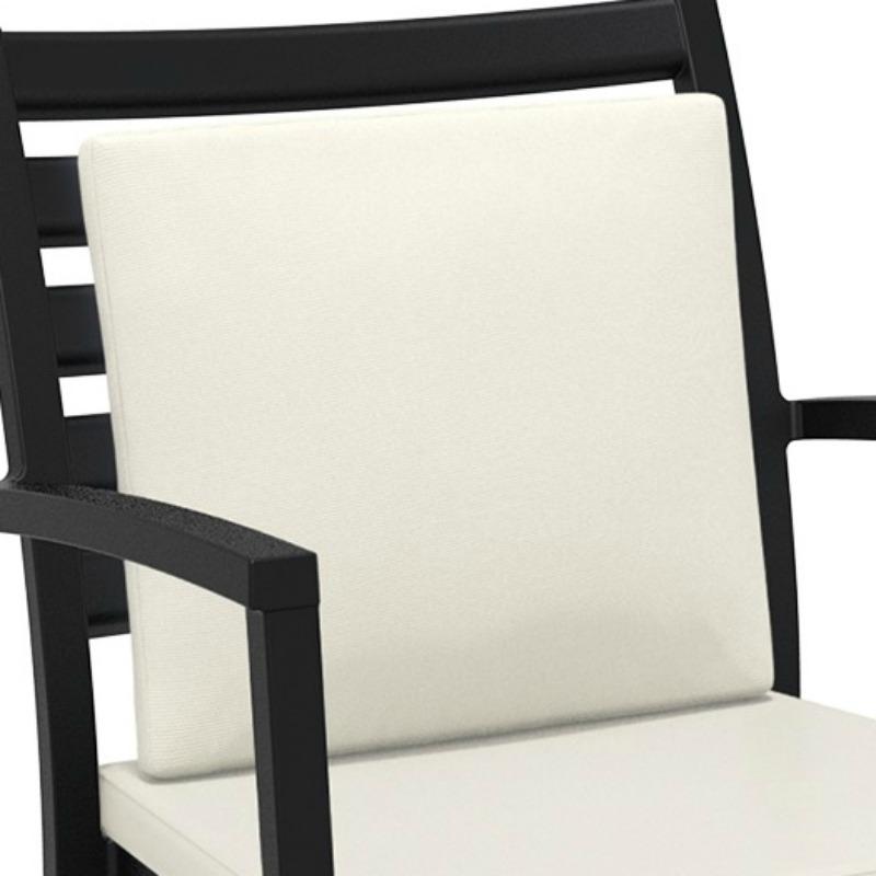 Artemis XL Lounge Armchair Backrest Cushion Beige