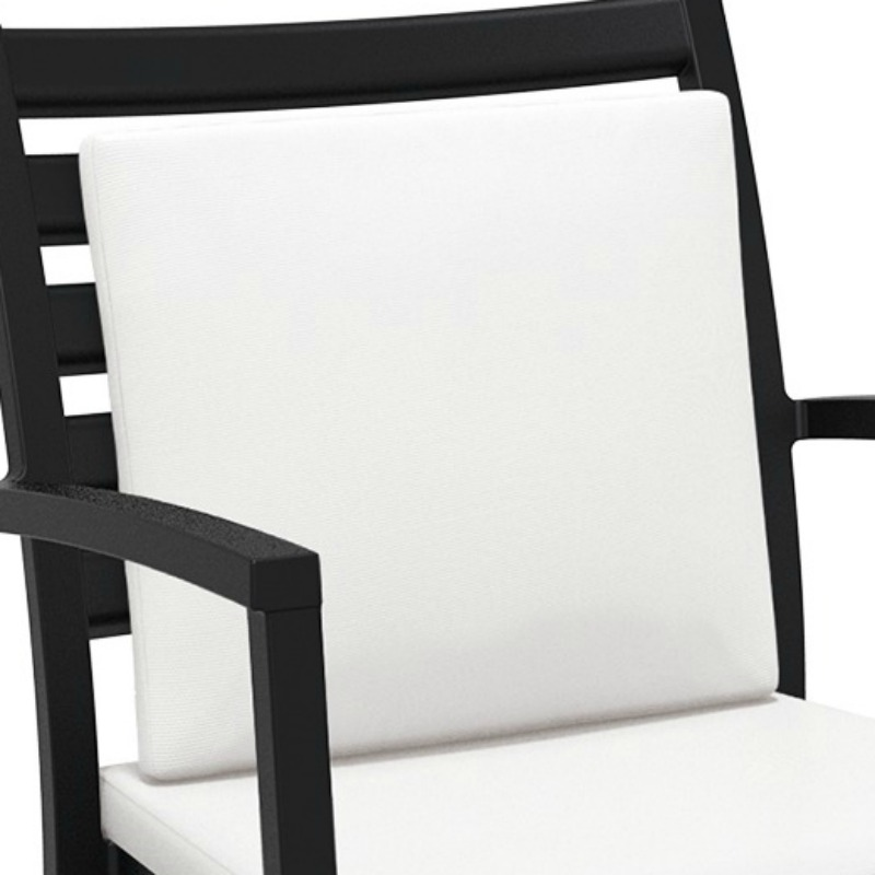 Artemis XL Lounge Armchair Backrest Cushion White